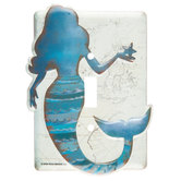 Mermaid Single Switch Plate